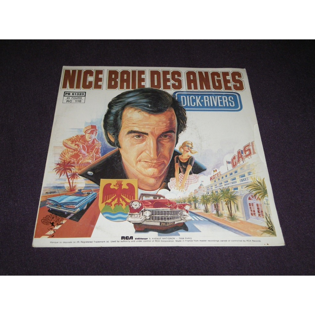 dick rivers Nice baie des anges - la nationale ( c'est son amour que je perds )