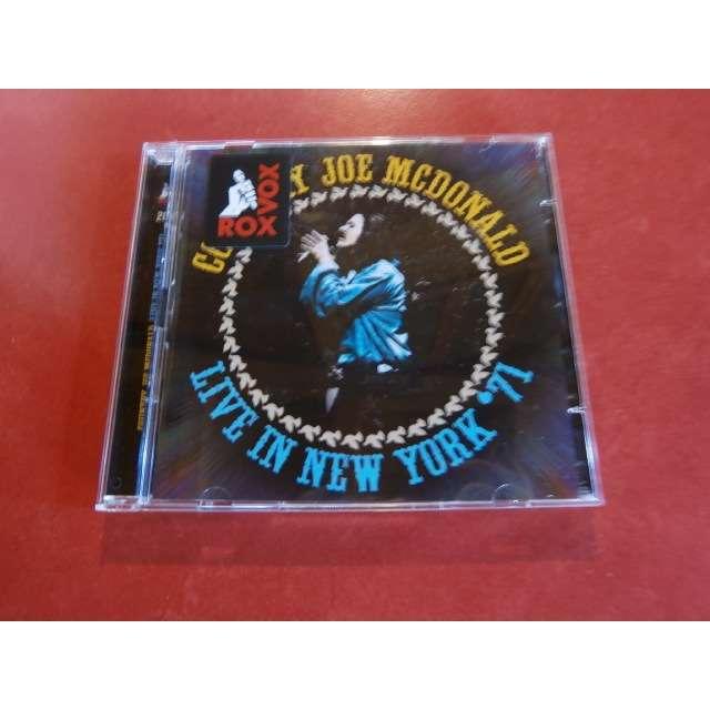 country joe mcdonald Live in New York '71