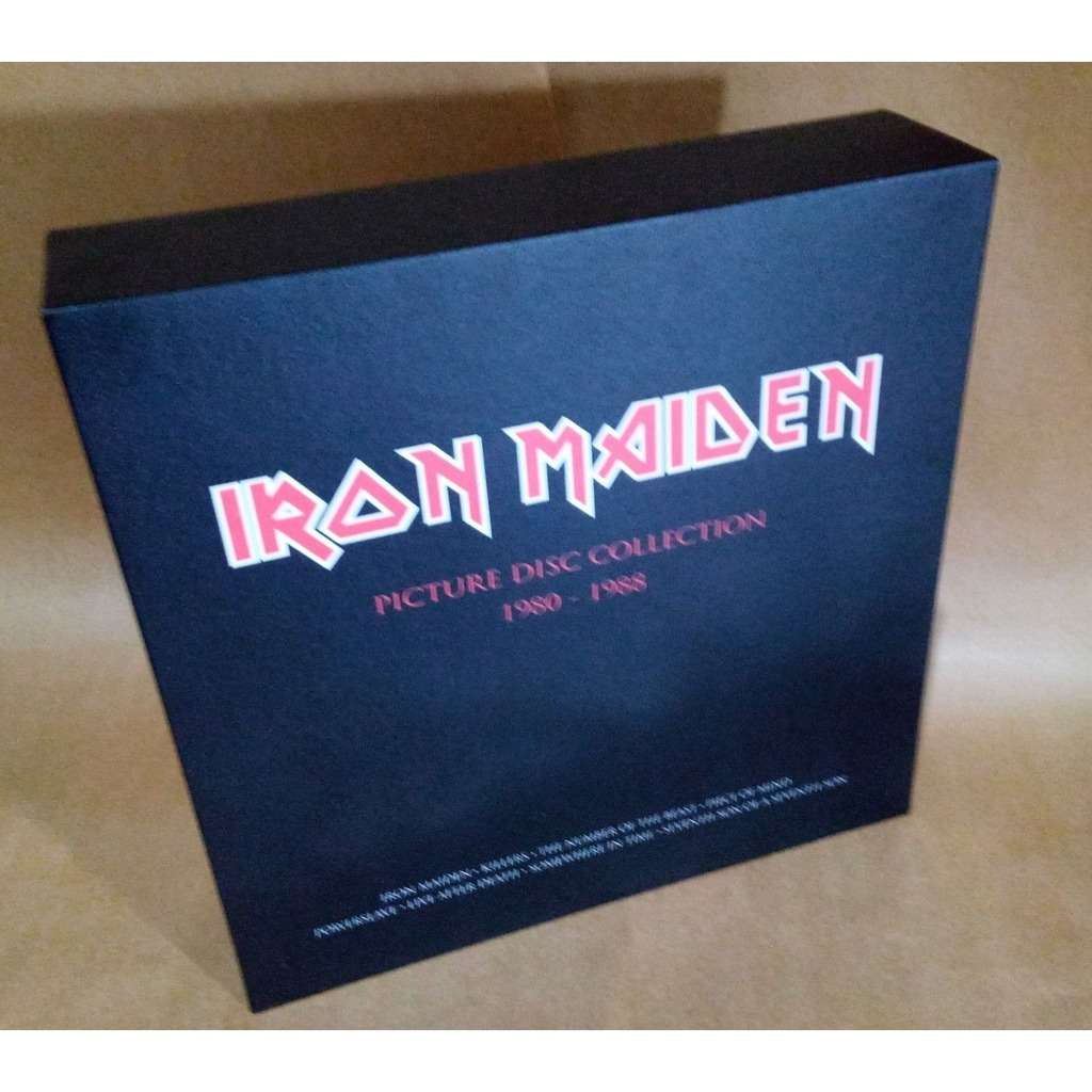 Iron Maiden Box Picture Picture Disc Collection 1980-1988 (Brazil release 2018)