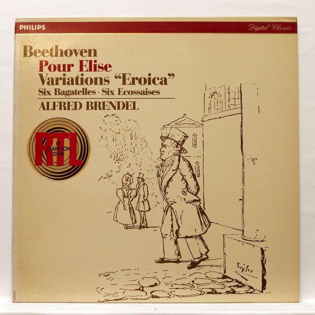 Alfred Brendel Beethoven : Eroica variations / 15 variations & Fugue