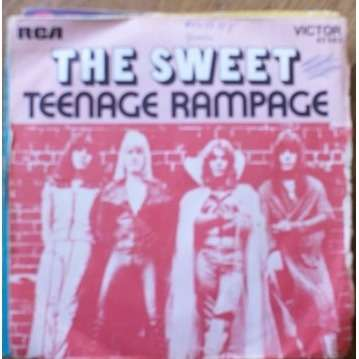 Teenage rampage / own up, take a look at yourself de Sweet, SP ...