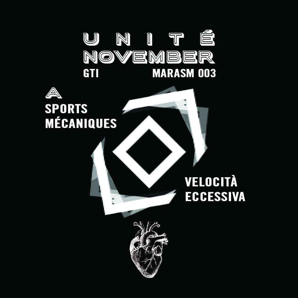 Marasm : Unité November Marasm 00-3 - 33T