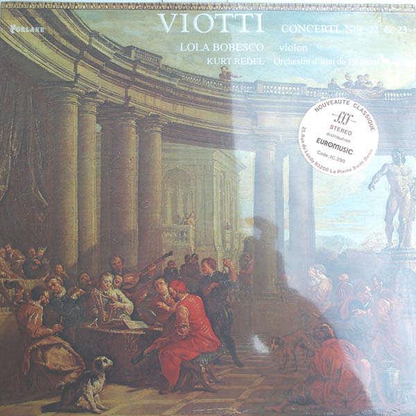 Lola Bobesco - kurt redel Viotti : Concertos pour violon