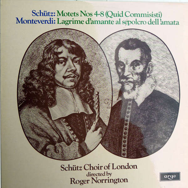 Roger Norrington Schütz - Monteverdi