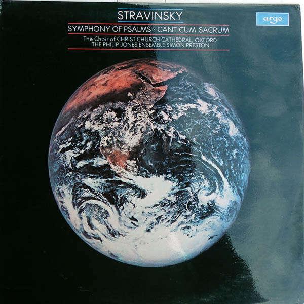 simon preston Stravinsky ; Symphony of Psalms