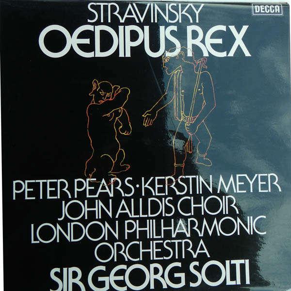 georg solti Stravinsky : Œdipus Rex