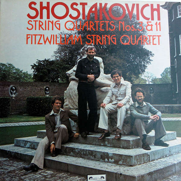 Fitzwilliam string quartet Shostakovitch : Quatuor n°3 & 11