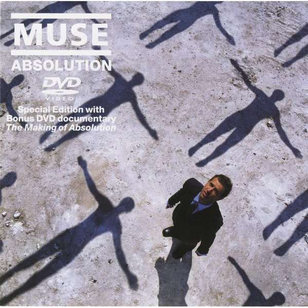 Muse Absolution (CD + DVD Benelux Edition)