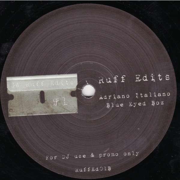 greg wilson / adriano celentano / boz scaggs ruff edits #1