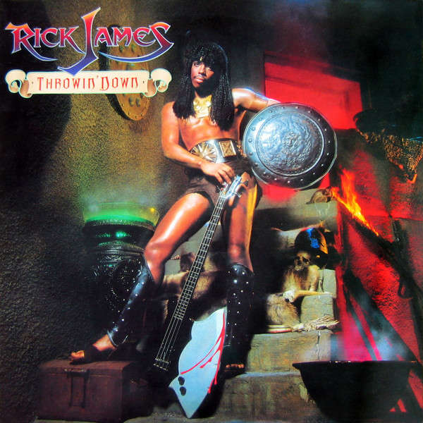 Rick James Throwin' Down