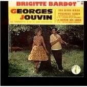 JOUVIN GEORGES Brigitte Bardot / zou bisou bisou / poderose senor / la marche des anges avec languette