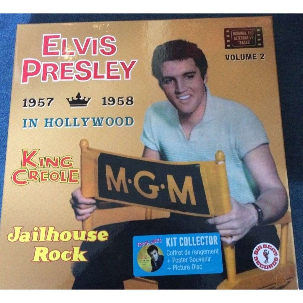 ELVIS PRESLEY KING CREOLE JAILHOUSE ROCK