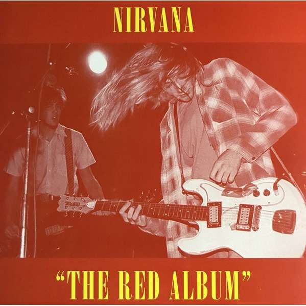 Nirvana ‎ The Red Album (lp) Ltd Edit Colored Vinyl -USA
