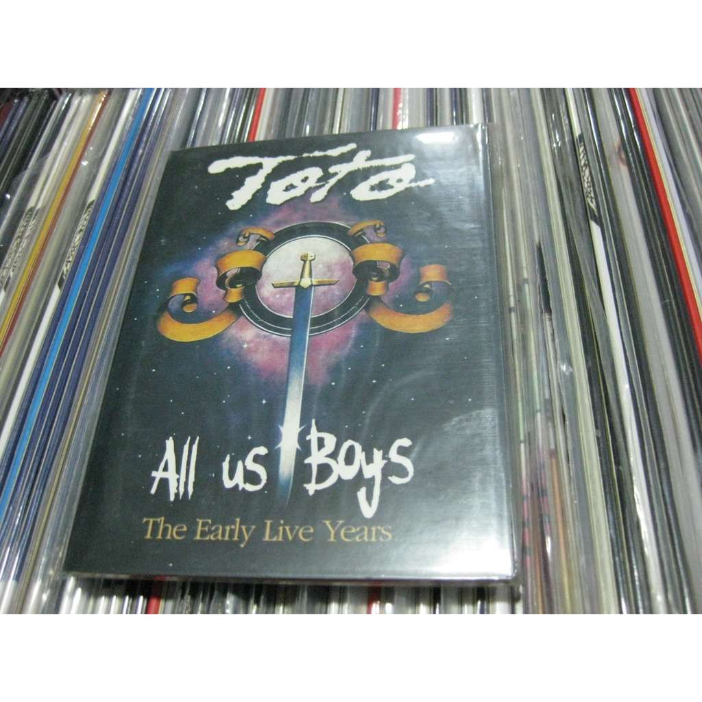 All us boys the early live years by Toto, DVD with sweetrarities ...
