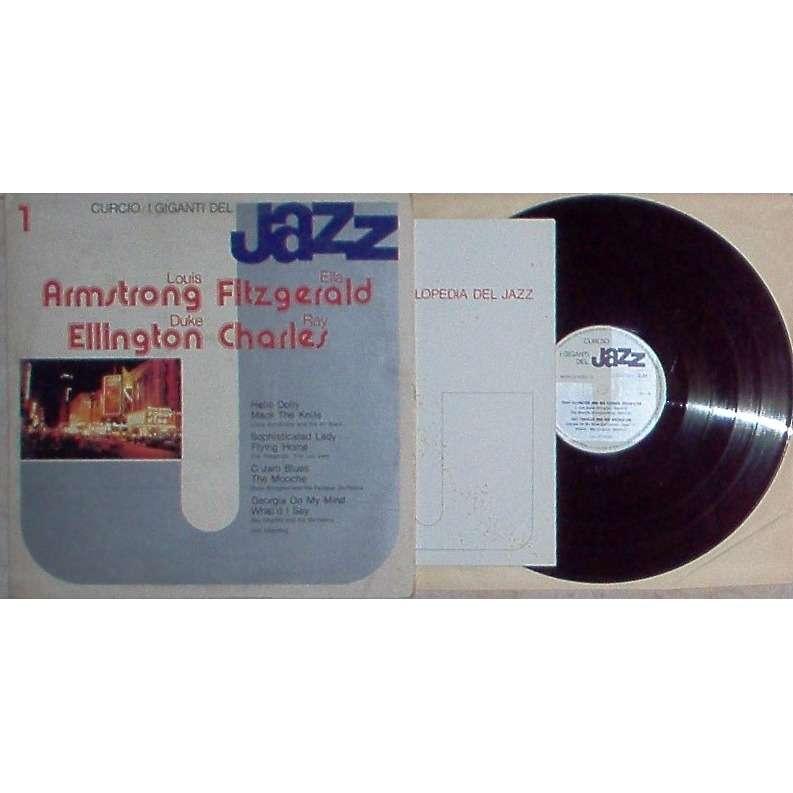 Duke Ellington / Ray Charles I Giganti Del Jazz Vol. 1 (Italian only original promo LP sampler unique gf ps+booklet!)