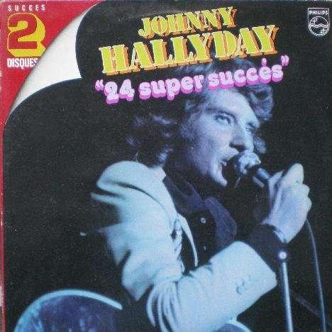 Johnny HALLYDAY 2 LP 24 super succès/