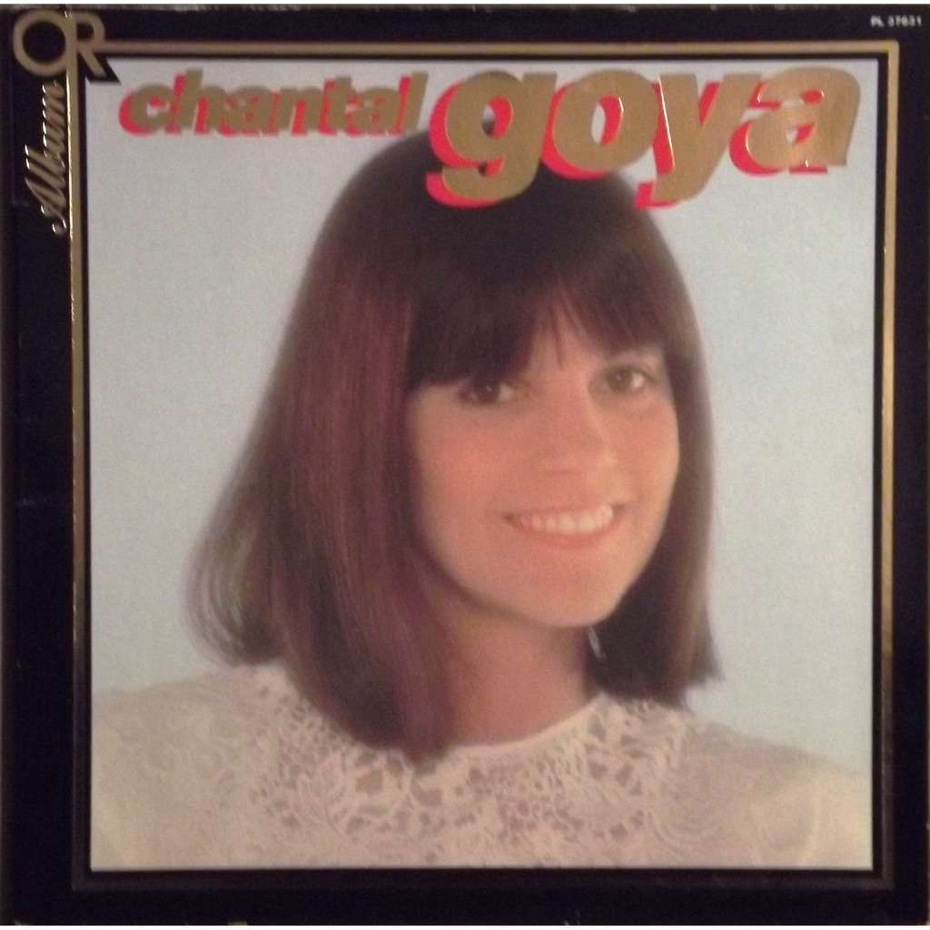 Chantal GOYA album d'or ( 12 Titres ) - Adieu Les Jolis Foulards