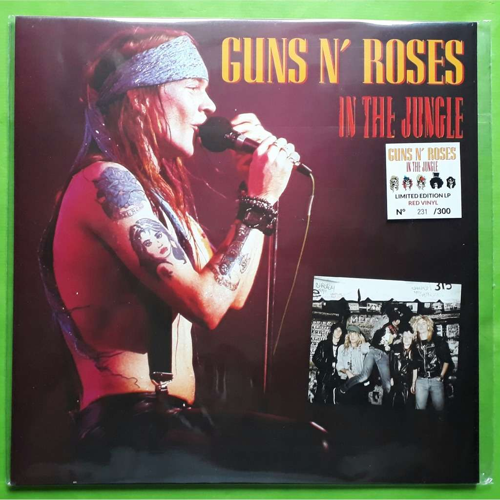 in the jungle limited edition album red vinyl 300 copies 2018