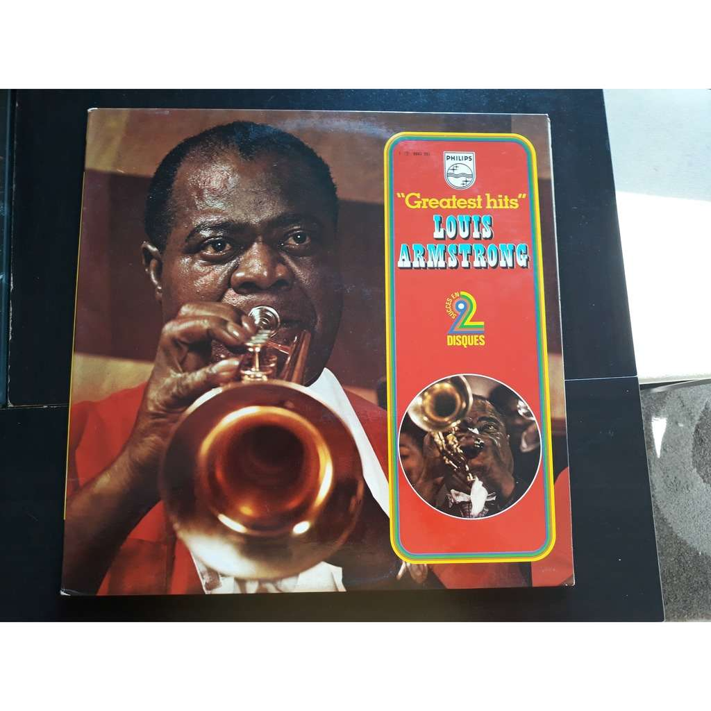 Louis Armstrong - Greatest Hits (2xLP, Comp) Louis Armstrong - Greatest Hits (2xLP, Comp)
