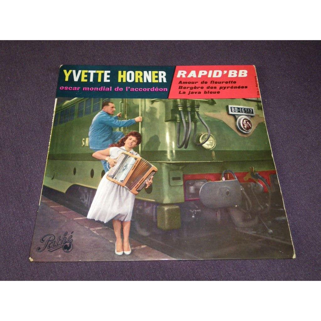 yvette horner Rapid BB / Amour de fleurette / Bergère des Pyrénées / La java bleue
