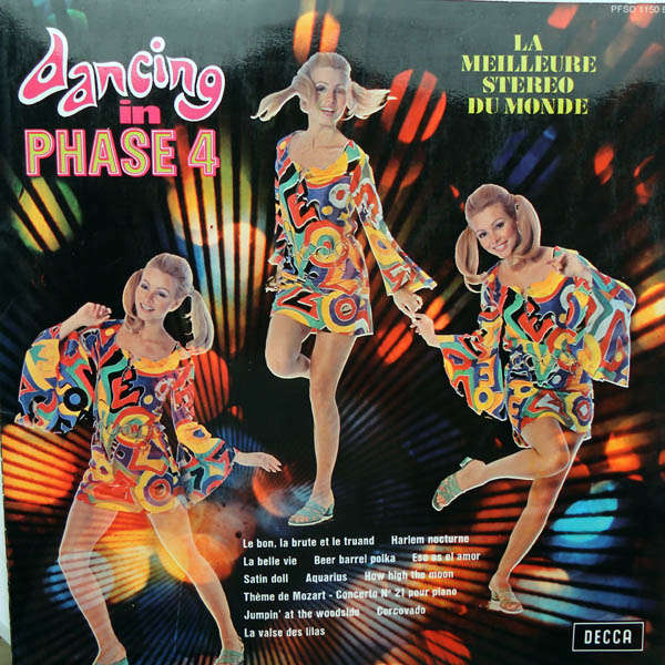 Maurice Larcange, Ted Heath, Will Glahé, Etc... Dancing in phase 4