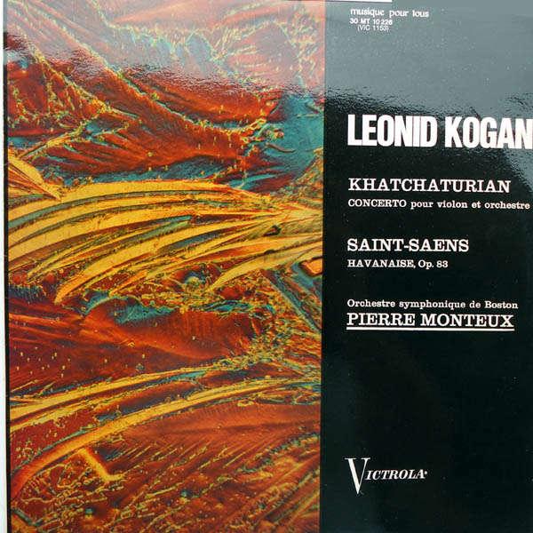 Leonid Kogan Khatchaturian : Concerto pour violon