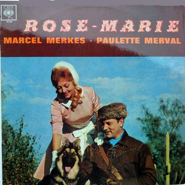 marcel merkes et paulette merval Rose - Marie