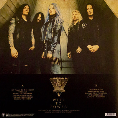 ARCH ENEMY Will to Power LP+CD