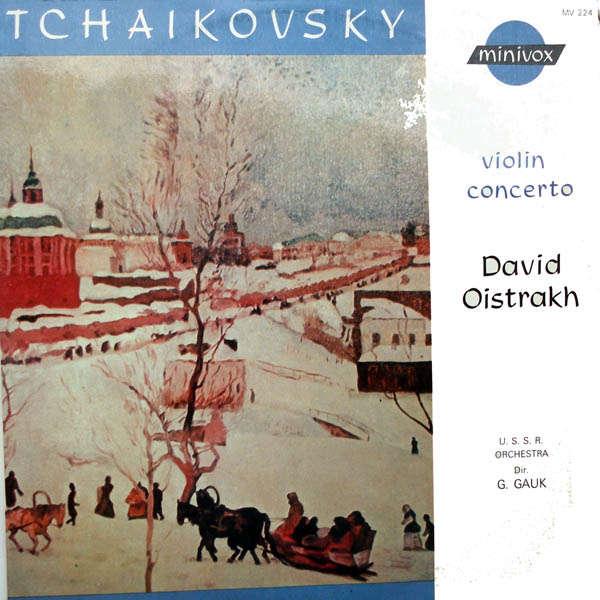 david oïstrakh Tchaikovsky : Concerto pour violon
