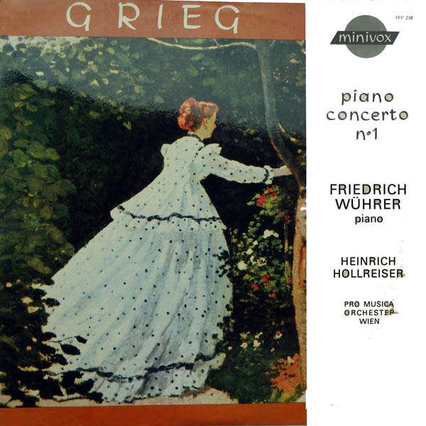 Friedrich Wührer Grieg : Piano concerto n°1