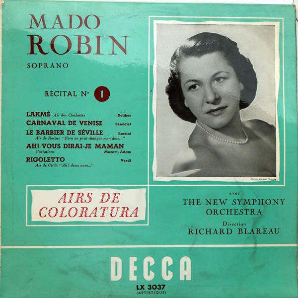 Mado Robin Récital n°1