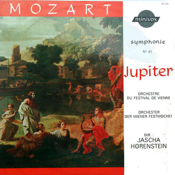 Jascha Horenstein Mozart : Symphonie n°41 Jupiter