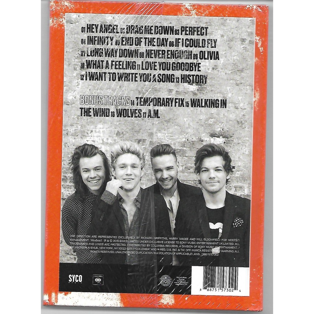 Made in the a m  - edition deluxe by One Direction, CD with jcvd74