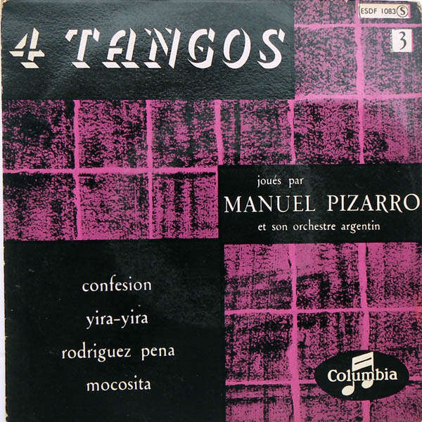 Manuel Pizarro & son orchestre argentin 4 tangos