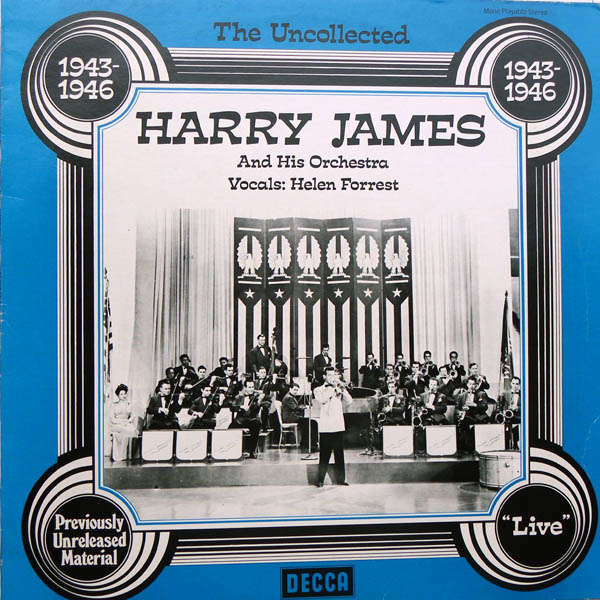 harry james and his orchestra 1943- 1946 Live