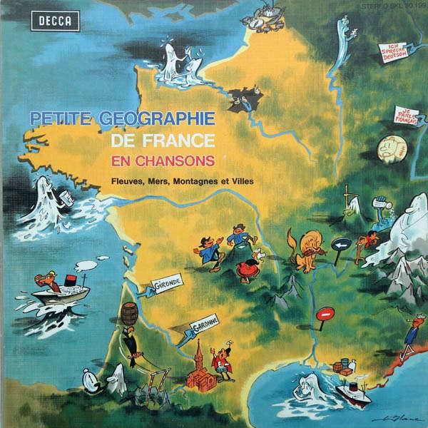 Christian Borel & Eliane Thibault Petite géographie de France en chansons
