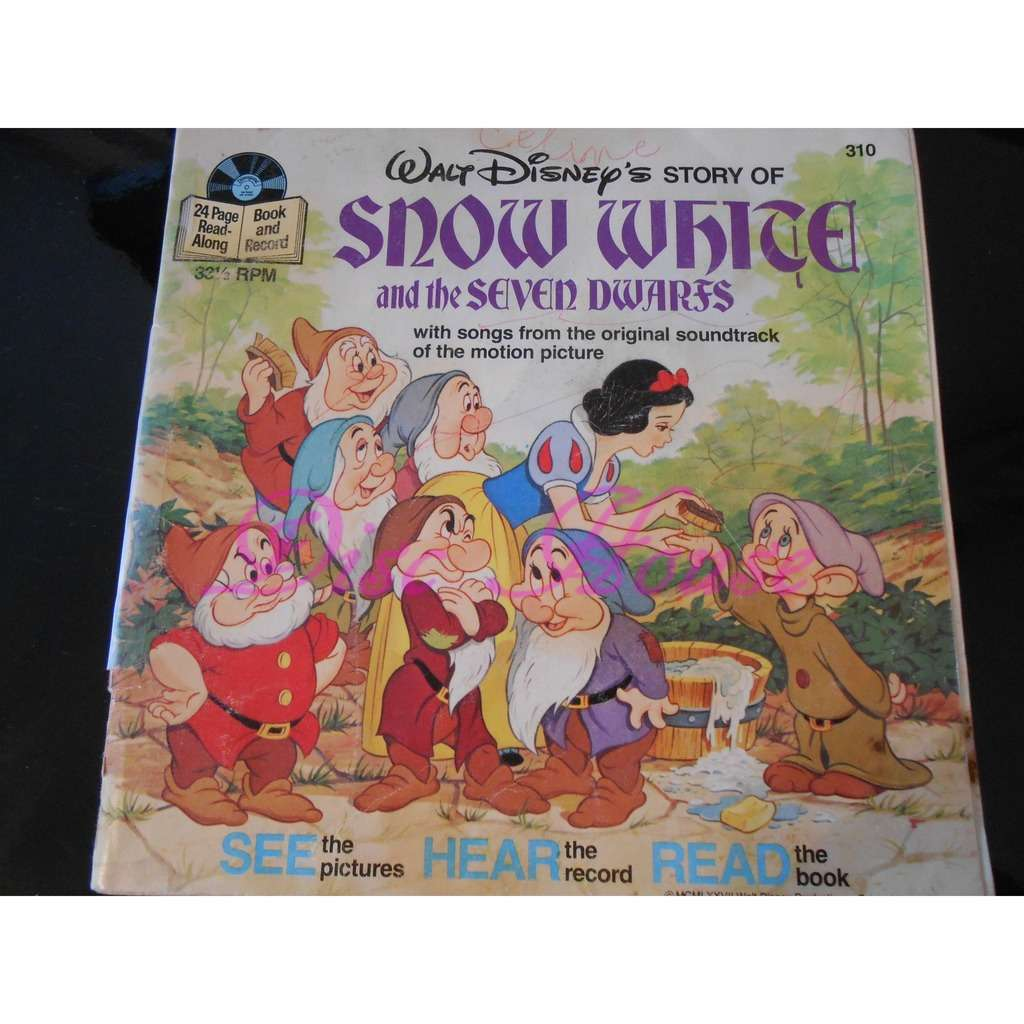 unknown artist story of snow white and the seven dwarfs