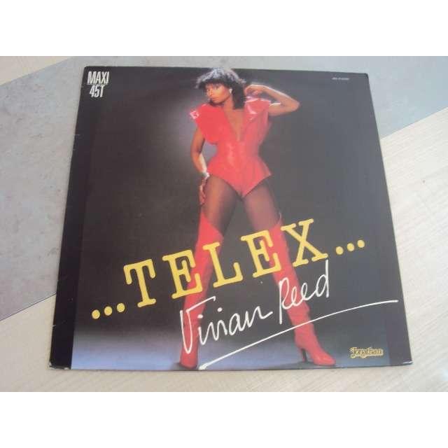 vivian reed telex 1985 FRANCE (MAXIBOXLP)