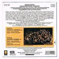 AZNAVOUR CHARLES ( + VARIUS ) POUR TOI ARMENIE / ILS SONT TOMBES