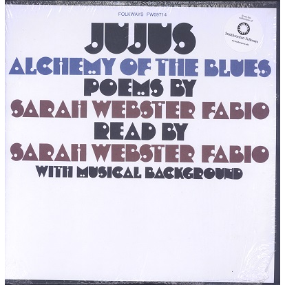 Sarah Webster Fabio Jujus alchemy of the blues