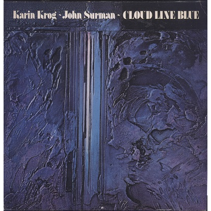 Karin Krog, John Surman Cloud line blue
