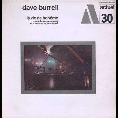 Dave Burrell La vie de bohême