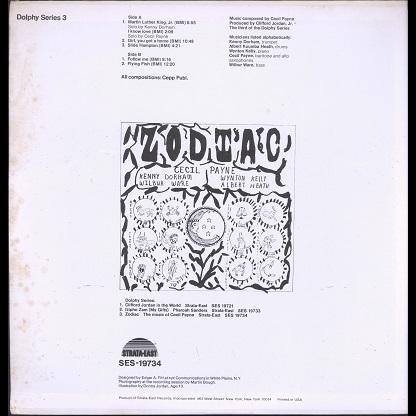 Cecil Payne Zodiac