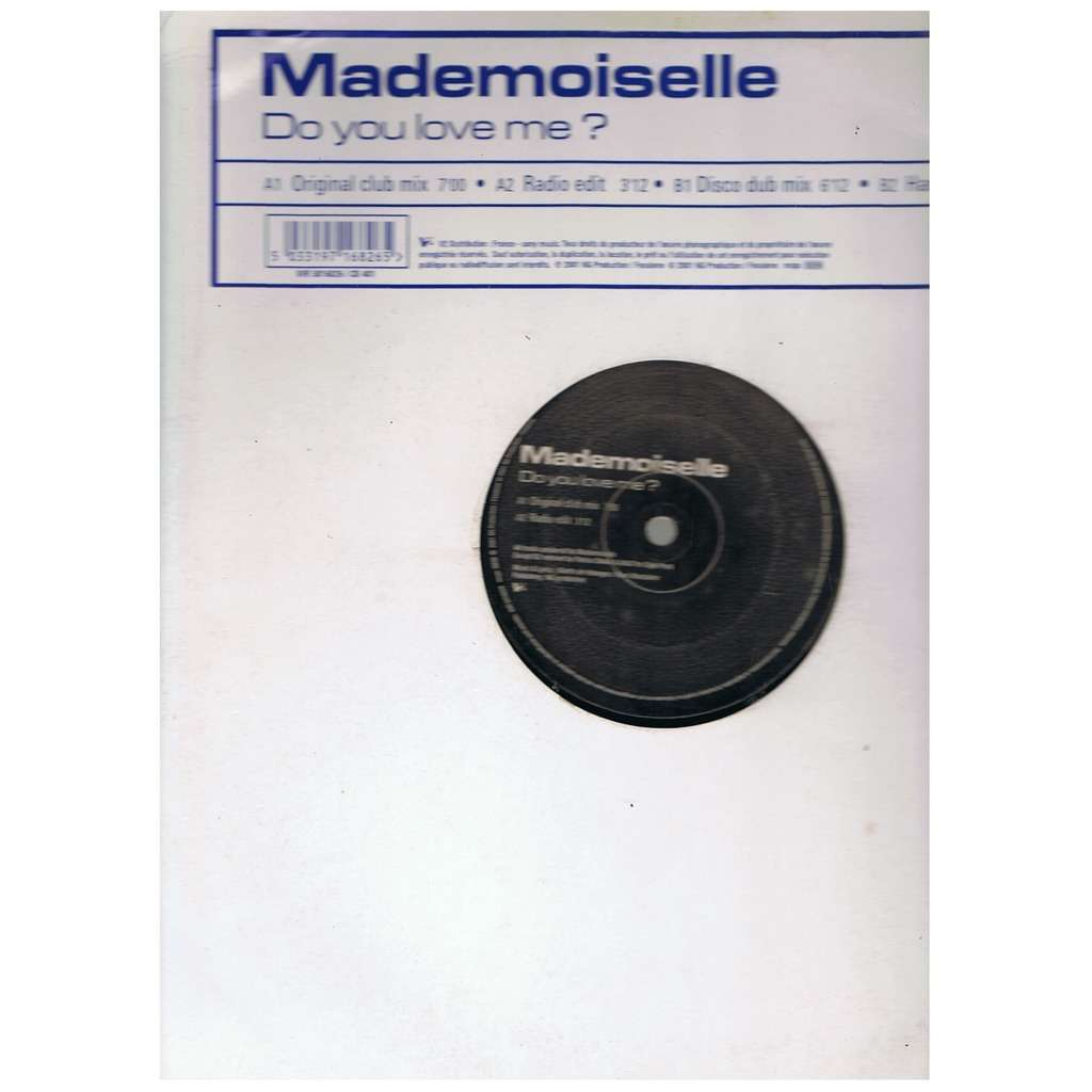 MADEMOISELLE DO YOU LOVE ME? -limited edition-