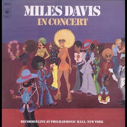Miles Davis In concert, Philharmonic Hall, New-York
