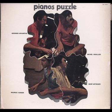 G. Arvanitas, M. Graillier, R. Urtreger, M. Vander Pianos puzzle