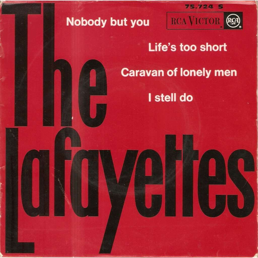 LAFAYETTES NOBODY BUT YOU