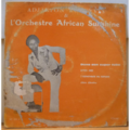 ADJAKPON ROCKYVES & AFRICAN SUNSHINE - Dans son super tube Dites moi - I remember my father - Chérie Christine - LP