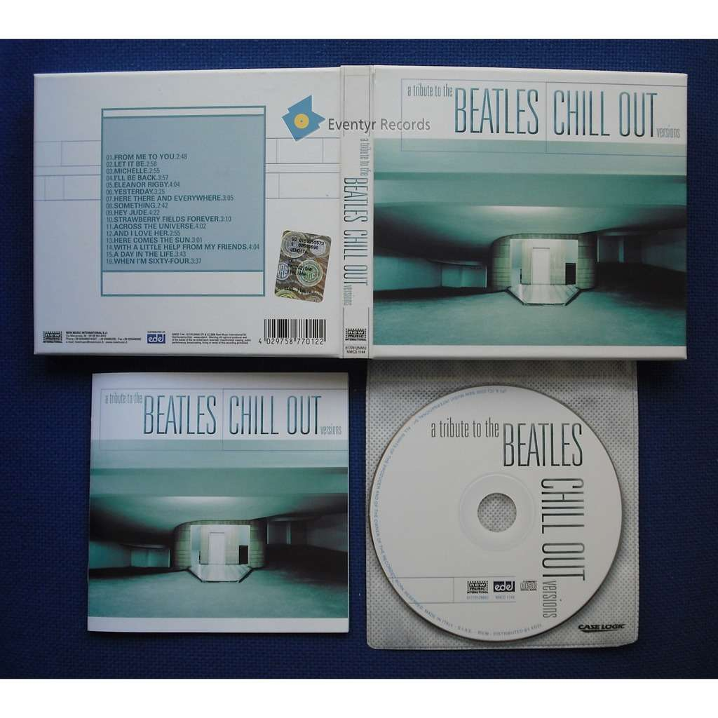 V.V.A.A. . A TRIBUTE TO THE BEATLES CHILL OUT VERS A TRIBUTE TO THE BEATLES CHILL OUT VERSIONS (digipack) (used)