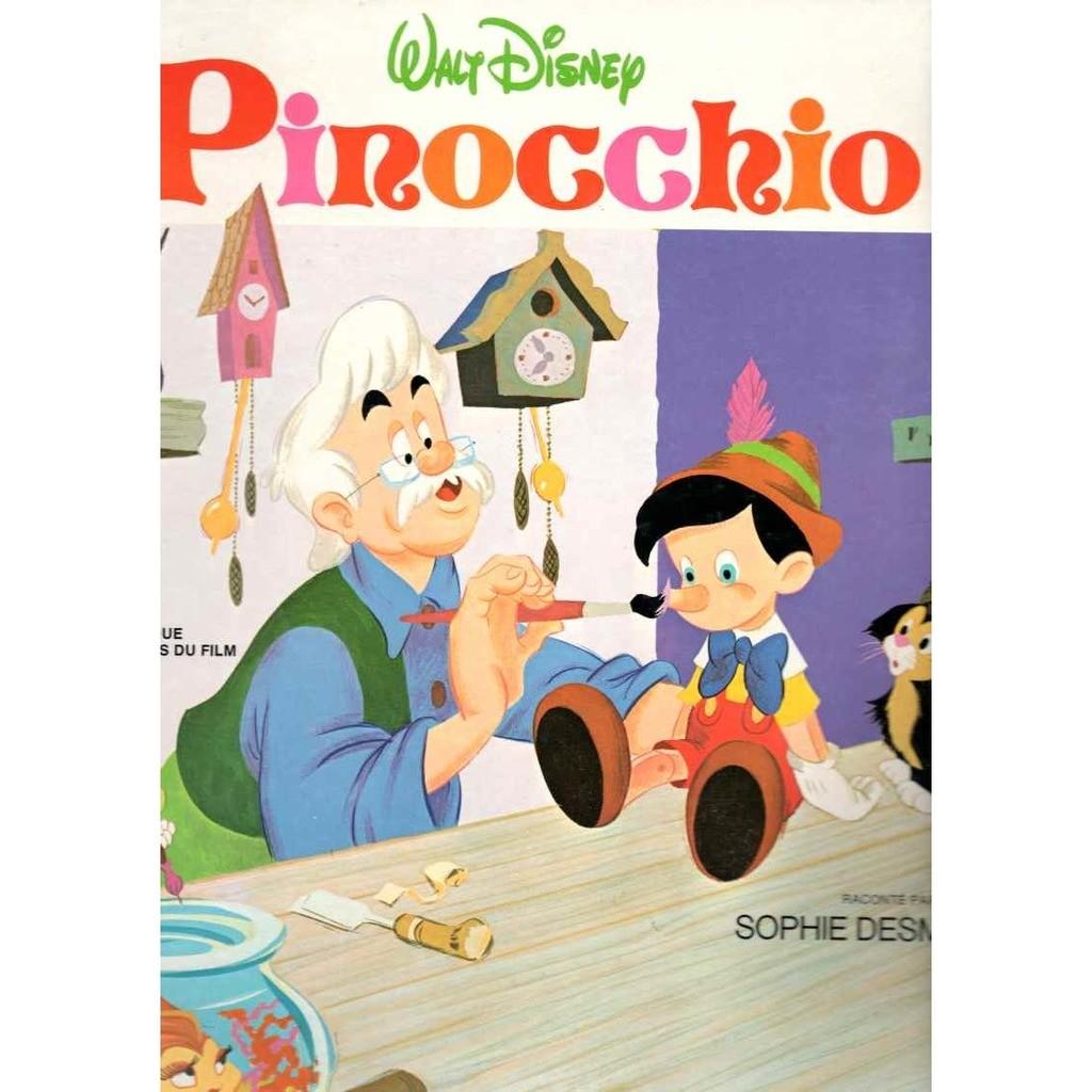 Sophie Desmarets Pinocchio Livre disque